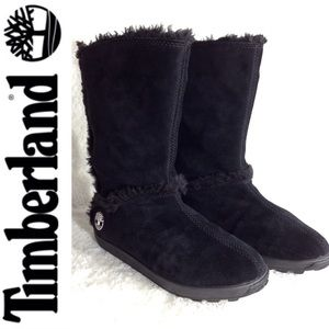 Timberland Suede Mukluk Pull On Boots
